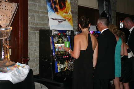 Slot Machines at a Fun Money Casino Party